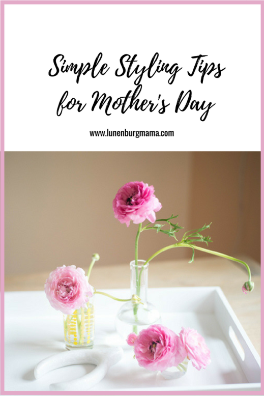 Simple Flower Styling Tips for Mother's Day